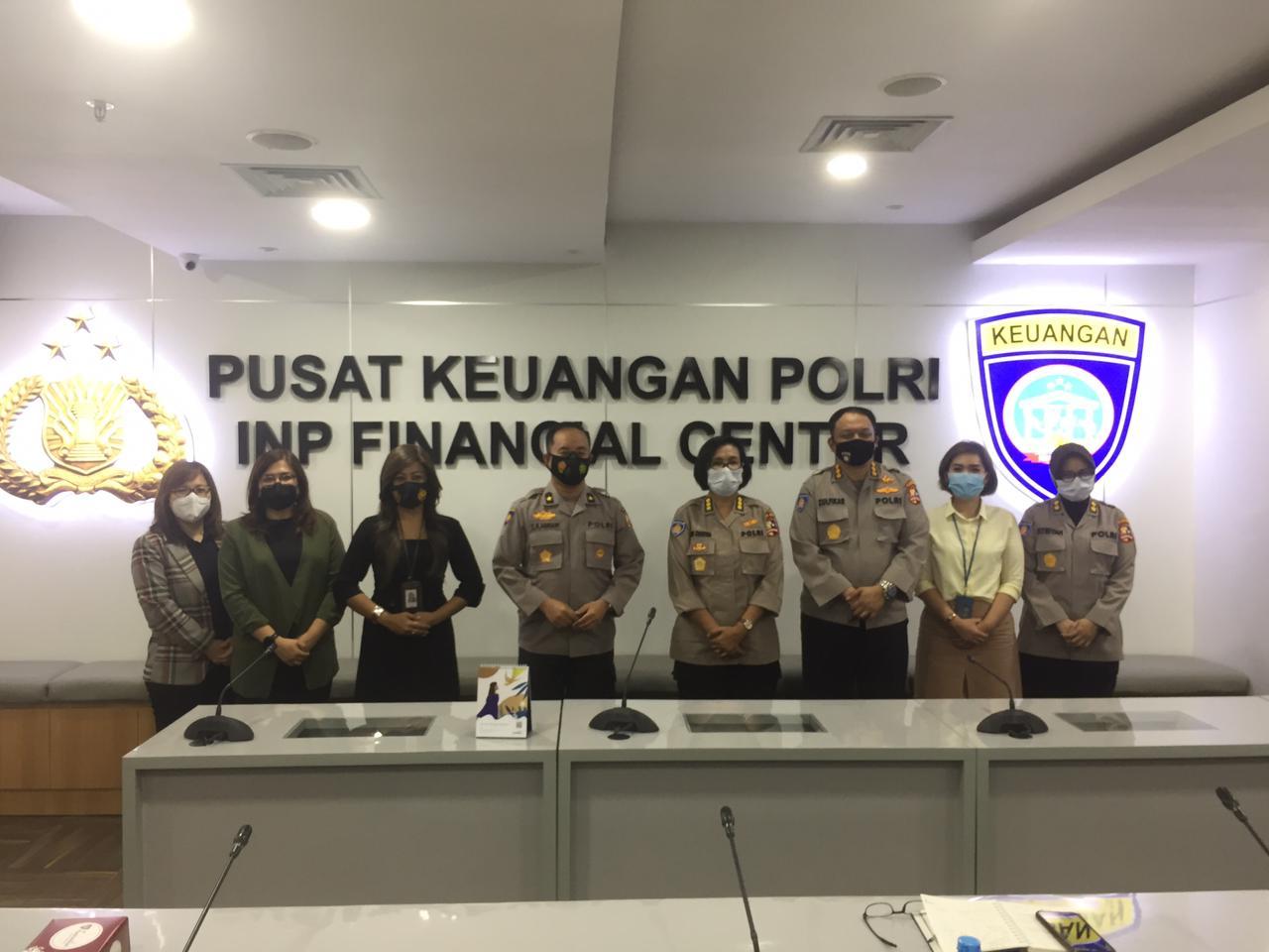Rapat Koordinasi Puskeu Polri dengan Bank BNI, perihal Pembahasan Restrukturisasi Rekening Benma Polri dari Rekening Giro ke Rekening Virtual Account